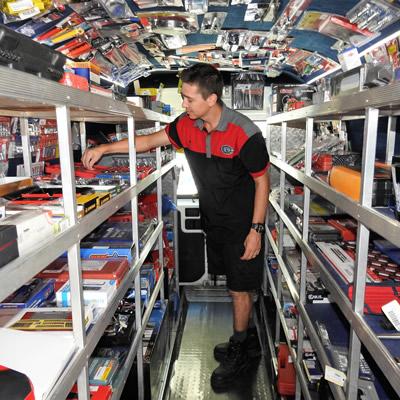 Mobile Tool Sales Van Sunshine Coast